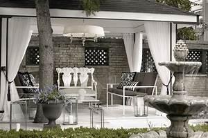 Pergola Curtains - Contemporary - deck/patio - Lukas