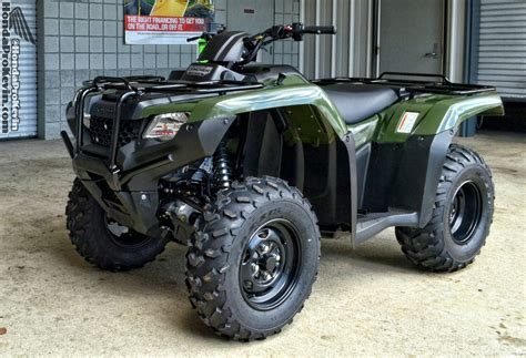 2016 Honda Rancher 420 4x4 Review  Specs Pictures