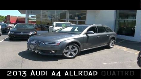 2013 audi a4 allroad quattro vehicle overview newton audi vw youtube