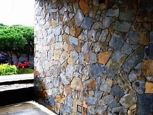 Parement Pierre Extérieure : pierre naturelle pose et prix au m2 bienchezmoi ~ Melissatoandfro.com Idées de Décoration