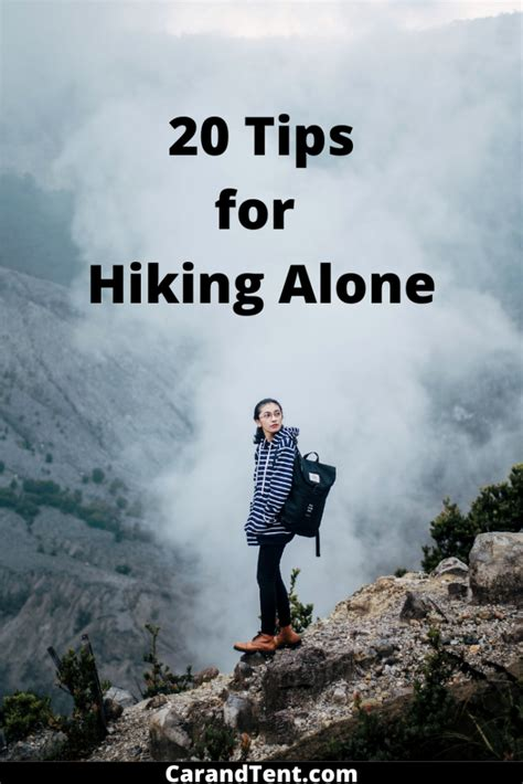 How to Hike Alone 20 Tips for Having Fun & Staying Safe