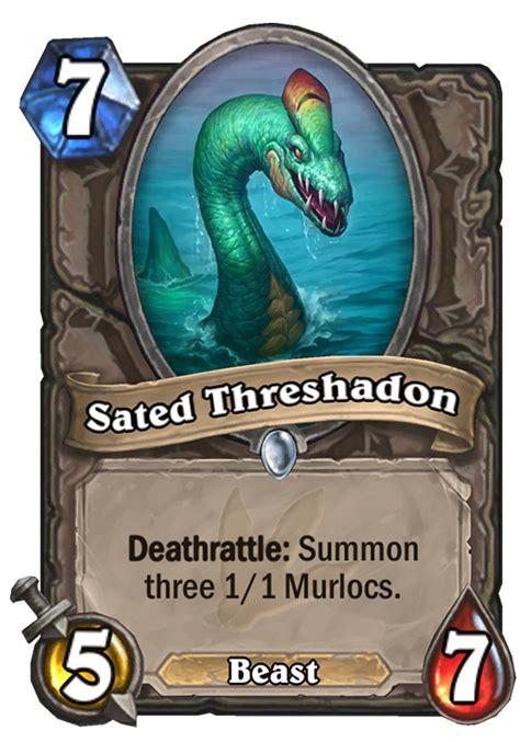 sated threshadon hearthstone card