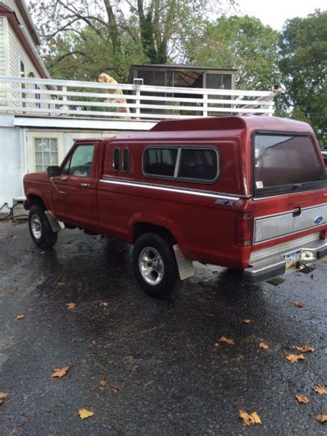 ford ranger stx standard cab  wd classic ford