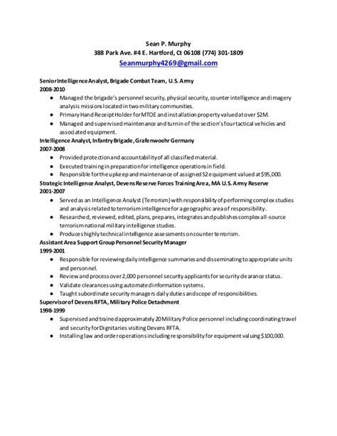 Rate Analyst Resume by Murphy Senior Analyst Resume