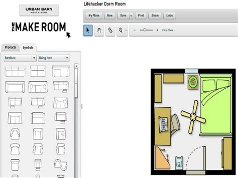 Free Room Layout, Virtual Room Planner Room Furniture