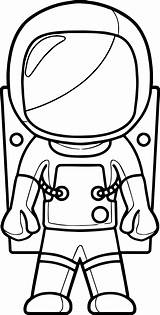 Astronaut Coloring Pages Cartoon Printable Space Preschool Colouring Sheets Closed Moon Drawing Coloringbay Getdrawings Adults Nice Craft Earth Getcolorings Wecoloringpage sketch template