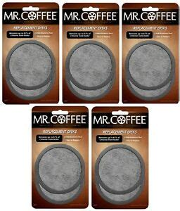 Coffee filters give your coffee a clean and bold taste. (5) ea Mr. Coffee WFFPDQ-10-NP 2 Packs Replacement Water Filter Disks 72179224945 | eBay