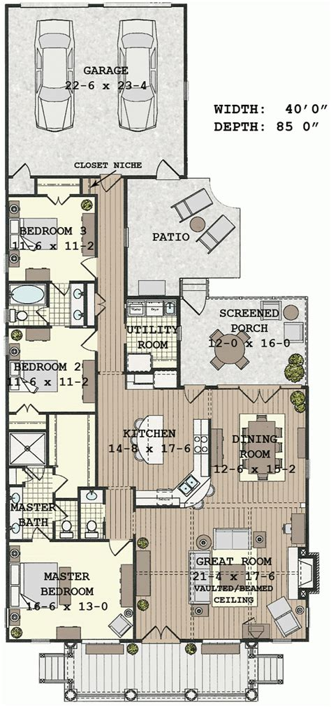 house plans with vaulted great room floor plan great room house plans floor plan