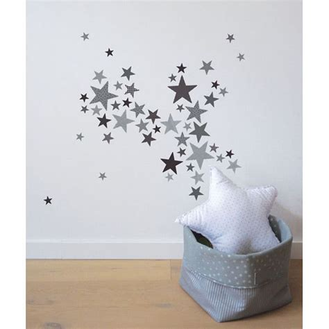 chambre bebe etoile lot stickers etoiles trendy gris lilipinso and co au