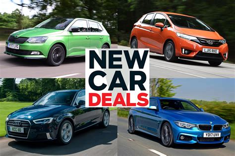 Best New Car Rebates by Best New Car Deals 2018 Auto Express