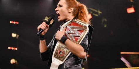 becky lynch breaks record  raw womens champion