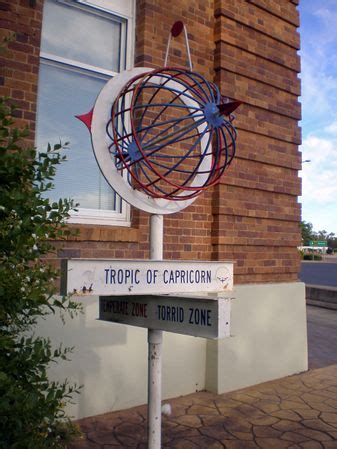 The sun is only directly overhead on the tropics on a solstice. Tropic of Capricorn Facts for Kids