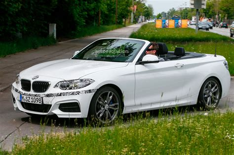 Bmw M235i Convertible Spied With The Top Down