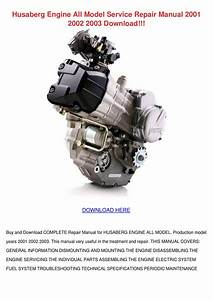 Husaberg Engine All Model Service Repair Manu By