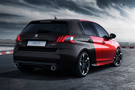 peugeot 308 gti 2015 peugeot 308 gti breaks cover gets either 250 or 270