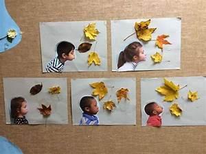 Bilder Collage Basteln : herbstbl tter und kinderfotos tolle collage herbst basteln mit kindern herbst basteln ~ Eleganceandgraceweddings.com Haus und Dekorationen