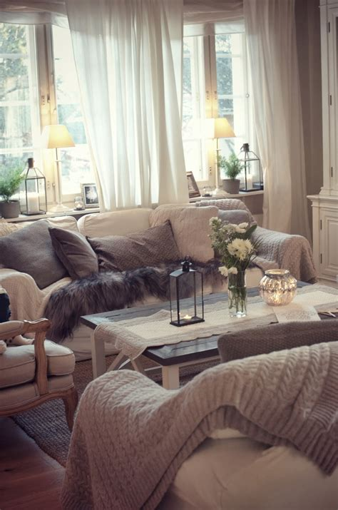 neutral color pallet  living room   warm cozy