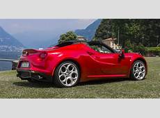 Alfa Romeo 4C Spider Review photos CarAdvice