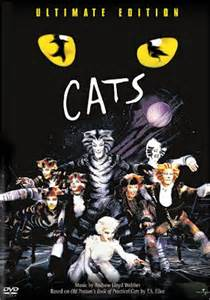 the play cats cats broadway musical poster