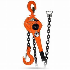 3 Ton Lift 6m Manual Pulley Vital Lever Chain Block