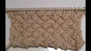 Modele De Tricotin Facile : tuto tricot apprendre a tricoter le gros point de vannerie ~ Melissatoandfro.com Idées de Décoration