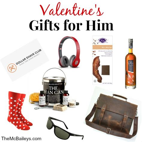 Find the perfect valentine's day gift for him this year. {Valentine's Day Gifts for Him} - the mcbaileys