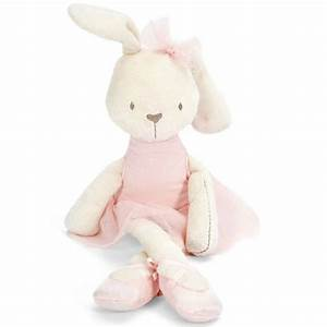 Cute Stuffed Plush Rabbit Toy For Baby Girls Kids Soft ...