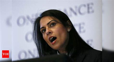 UK's Indian-origin minister Priti Patel embroiled in ...