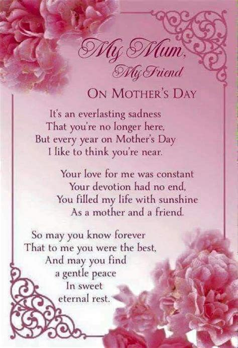 missing mom  mothers day mom poems mom  heaven