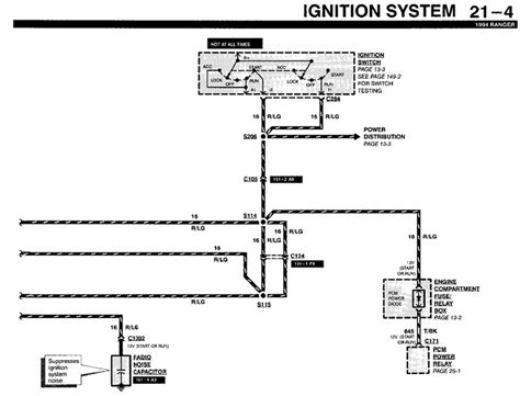 Ford Ranger Locate Diagram For The Electrical