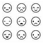Icon Facial Emotions Emotion Expression Expressions Packs