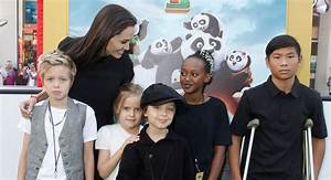 Angelina Jolie's Kids Look So Grown Up at 'Kung Fu Panda 3 ...
