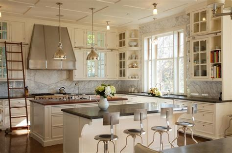kitchen ls ideas country kitchens ideas in blue and white colors