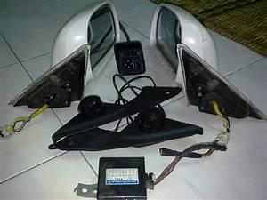 Lancer Gsr Auto Parts  Evo3 Auto Flip Side Mirror With Tweeter
