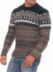 Gros Pull Laine Homme : pull vintage homme marron laine ~ Louise-bijoux.com Idées de Décoration