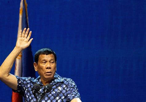 Philippine president Duterte says he can be held ...