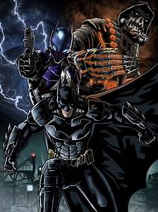 Batman Arkham Knight poster to colors by JonathanPiccini ...