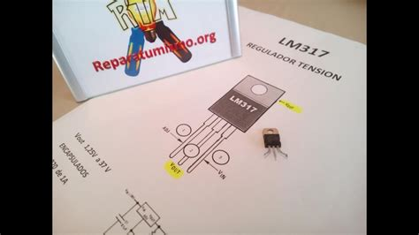 checkeo basico lm317 regulador de voltaje