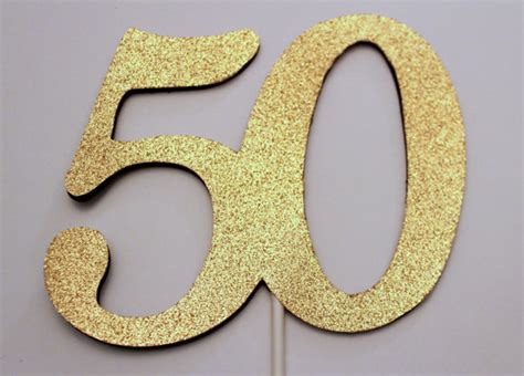 Black 50th Birthday Decorations by 50th Birthday Cake Topper 50 Cake Topper 50th Birthday