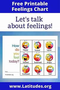 FREE Feelings Chart - How Do You Feel Today (Colorful ...