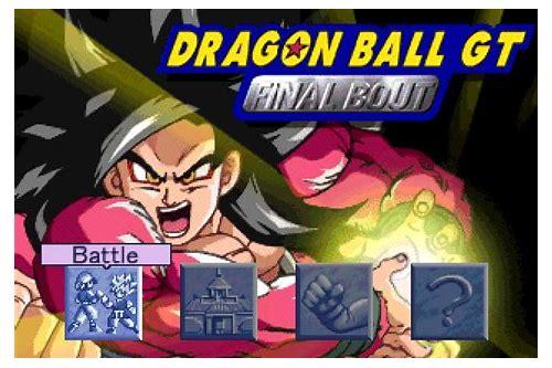 dragon ball gt final bout pc game free download