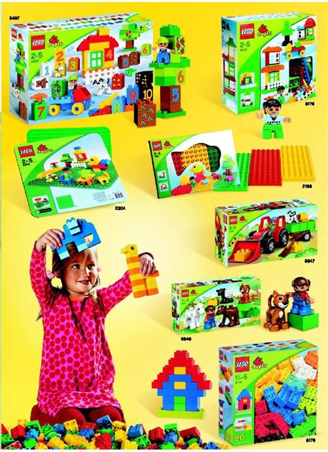 Lego Duplo Deluxe Brick Box Instructions 5507, Duplo
