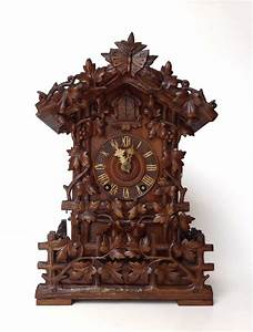 Antique, Cuckoo, Clock, By, Beha
