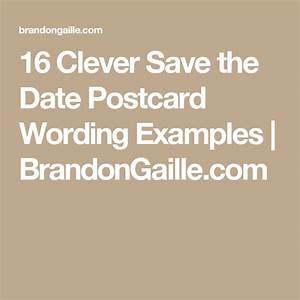 Best 25+ Save the date examples ideas on Pinterest ...