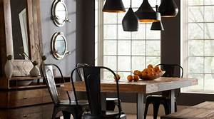 idee deco salle a manger with contemporain salle a manger With salle a manger vintage industriel