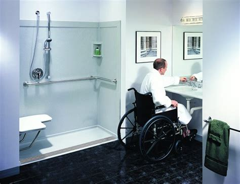 handicap bathrooms  eagle remodeling