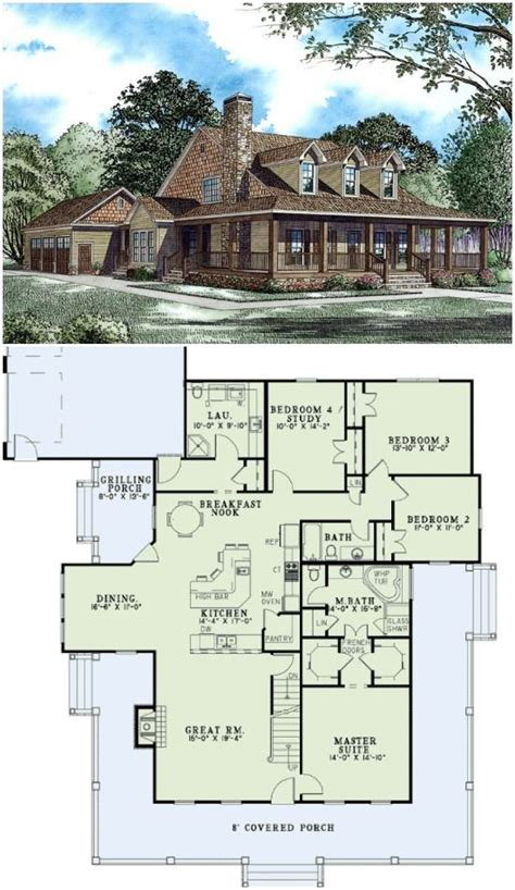 square house plans with wrap around porch country house plans wrap around porches and country