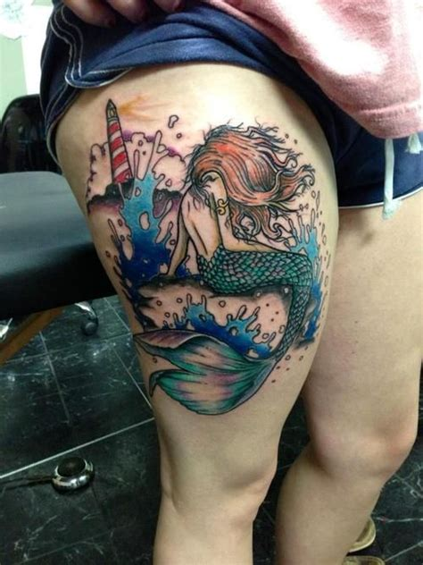 images  mermaid tattoos  pinterest