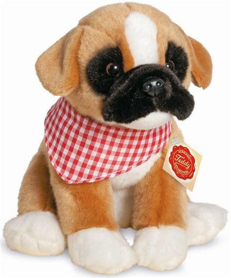 teddy hermann collection plueschtier hund boxer  cm