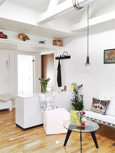 Comfortable And Stylish Small Apartment by Stylish Small Attic Apartment
